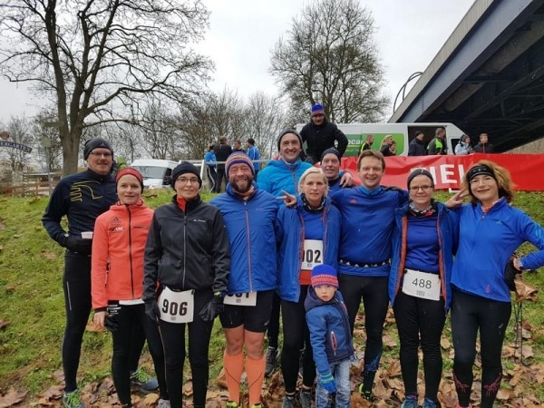 Tolle Vorstellung der LTF Läufer beim 23. Ford Advent-Lauf in Saarbrücken.